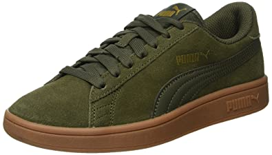 68d5874bb9d Image Unavailable. Image not available for. Colour  Puma Unisex Adult Smash  V2 Low-Top Sneakers