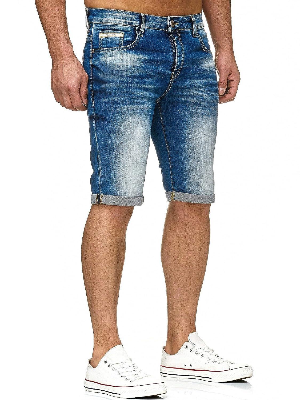 Redbridge Uomo Denim Pantaloncini Corti Jeans Basic Casuale Moda Estate Shorts