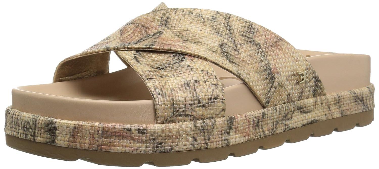 Natural Palm Raffia 42 EU Femmes Slide Chaussures