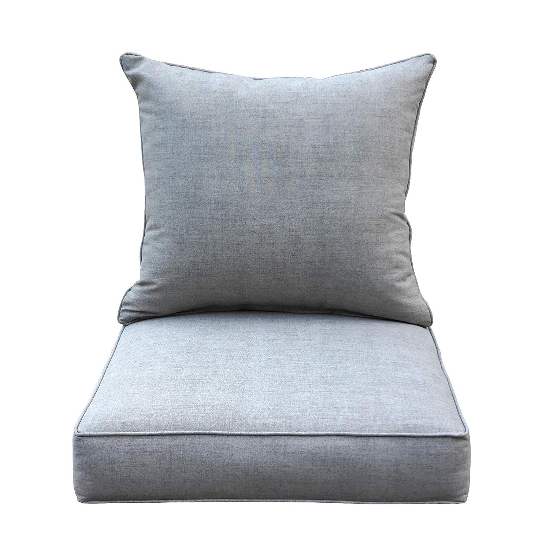 Amazon.com: [SewKer] Cojín de asiento profundo para interior ...