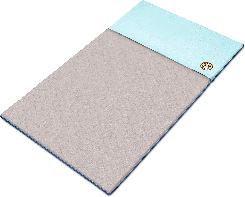GuineaDad Fleece Liner 2.0 Conejillo de Indias del paño Grueso y Suave de la Jaula Liners Conejillo de Indias de Ropa de Cama de madriguera Manga Bolsillo a Prueba de Agua Disponibles C&C 2x4 Azul