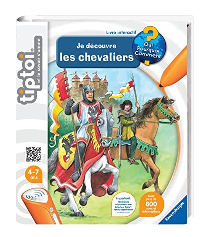 Ravensburger 00603 Jeu Educatif Electronique Tiptoi Livre Decouvre Chevaliers