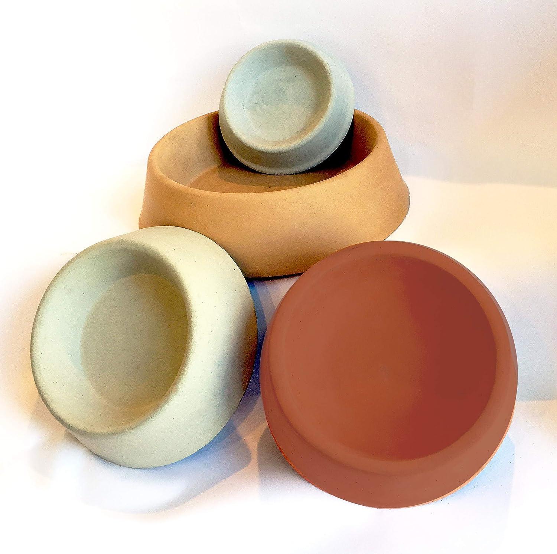Concrete Pet Bowls Large