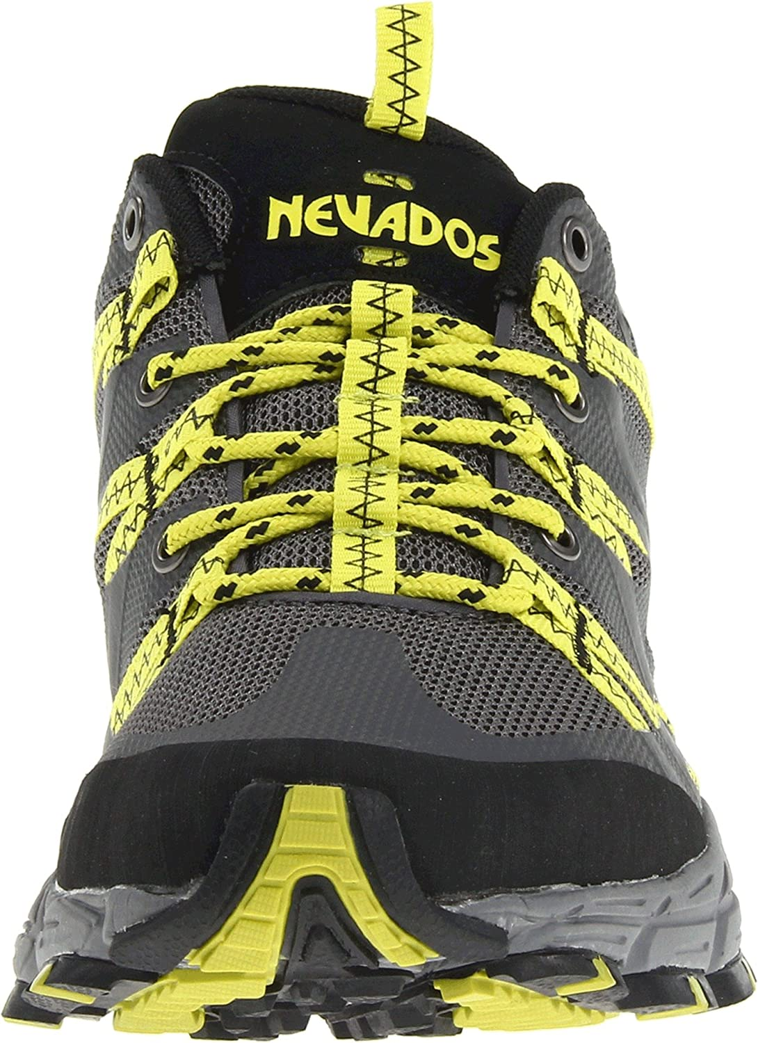 Amazon.com | Nevados Men's Compass Low V7033M Trail Running Shoe,  Black/Steel/Lime, 8.5 M US | Trail Running