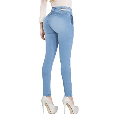 Aranza Pantalones Colombianos Levanta Cola Butt Lifting Colombian Jeans Premium