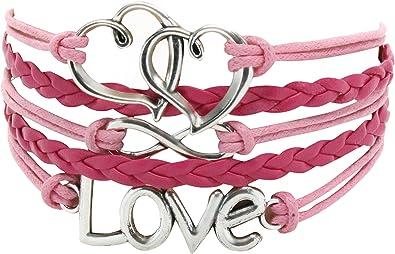 Ciyoon Bracelet Wrap Bangle Bracelets Women Vintage Simple for Women Teen Girl Boy Gifts