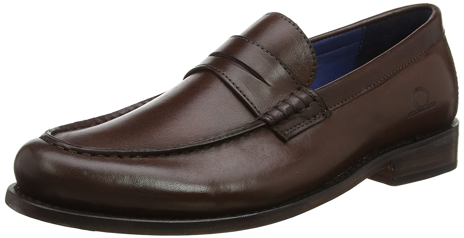 Chatham Mcqueen, Mocasines para Hombre 50 EU|Marrón (Dark Brown 001)