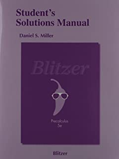 Blitzer Precalculus 4th Edition Pdf