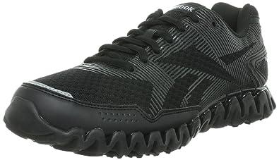 Reebok ZigNano Rhythm Running Shoes - 11.5 Black  Amazon.co.uk ... 81c064b97