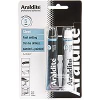 Araldite ARA-400010 15ml 2-Tubes Steel Epoxy, Clear