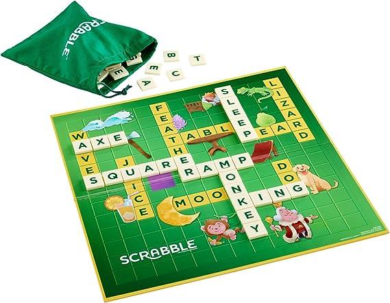 Mattel Games Scrabble Learn English, Board Games (Mattel GGB31): Amazon.co.uk: Toys & Games