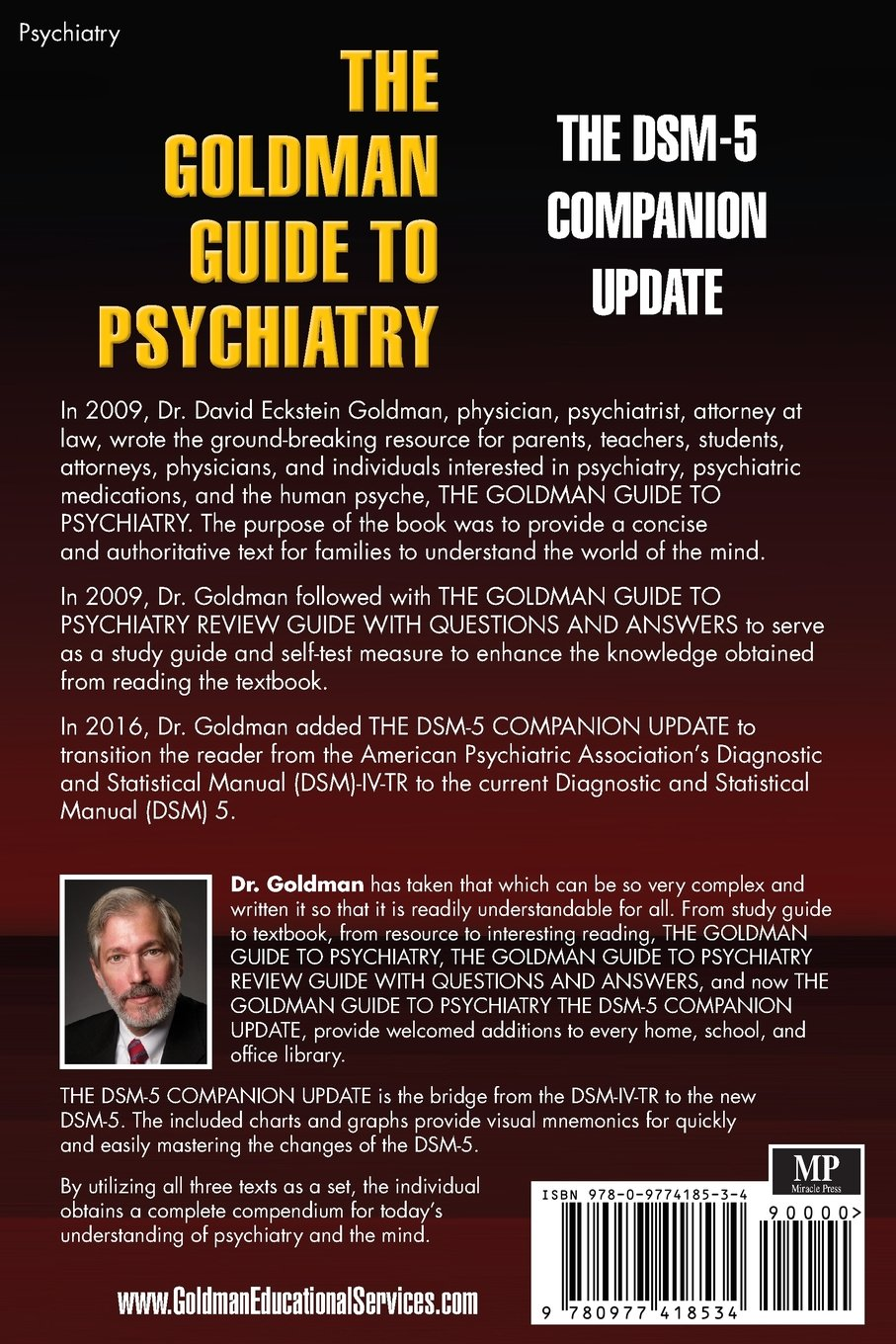 The goldman guide to psychiatry the dsm 5 companion update dr david the goldman guide to psychiatry the dsm 5 companion update dr david eckstein goldman 9780977418534 amazon books fandeluxe Image collections