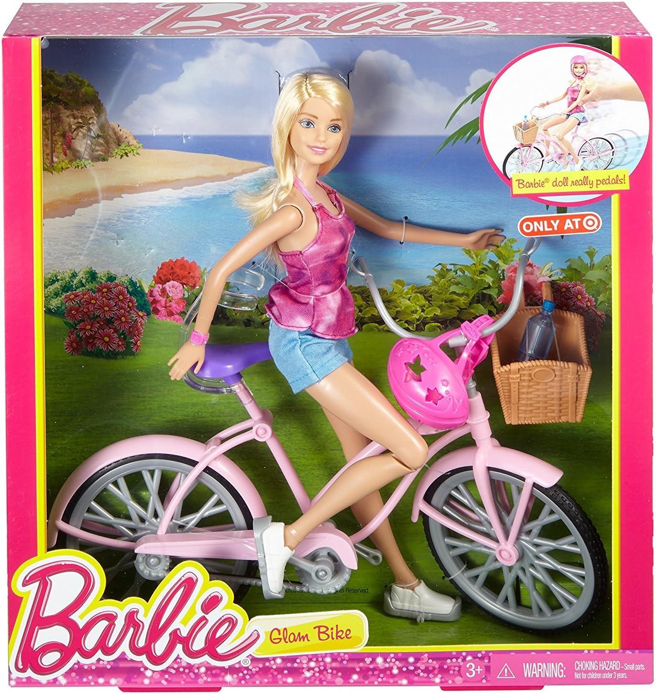 Amazon.es: Barbie Bicicleta muñeca: Juguetes y juegos