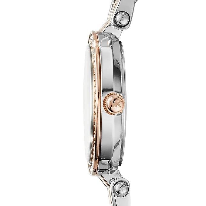 6b625685e7ca Michael Kors Women s Watch MK3298  Amazon.co.uk  Watches