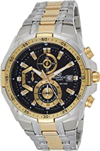 Casio Men's Dial Stainless Steel Band Watch - EFR-539SG-1AVUDF