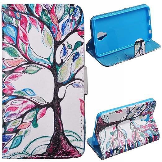 36 opinioni per Voguecase® Per LG X Screen, (Grande albero di colore) Elegante borsa in pelle