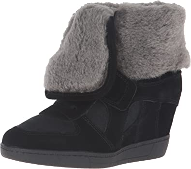 Ash Women's Brendy Fur Fashion Sneaker