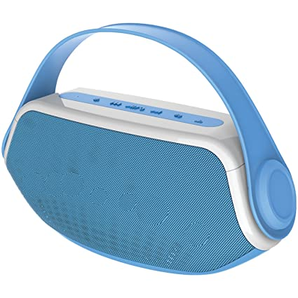 Review Sylvania SP233-Blue Wireless Bluetooth