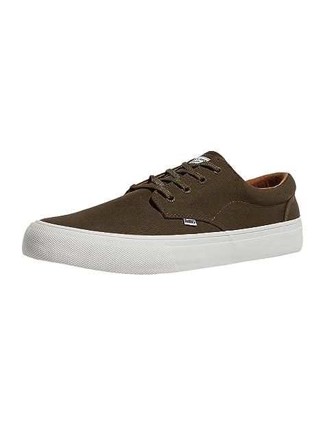 Djinns Herren Schuhe/Sneaker Nice Simple Schwarz 44 3BR6Hxm