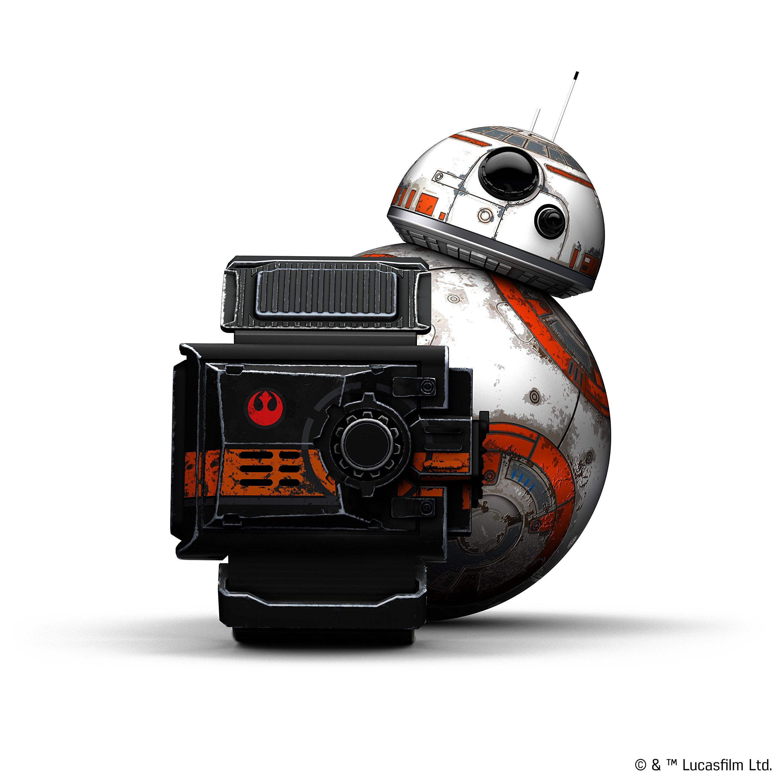 Wig Special Edition Battle-Worn BB-8 App-Enabled Droid with Force Band by Wig (Image #2)