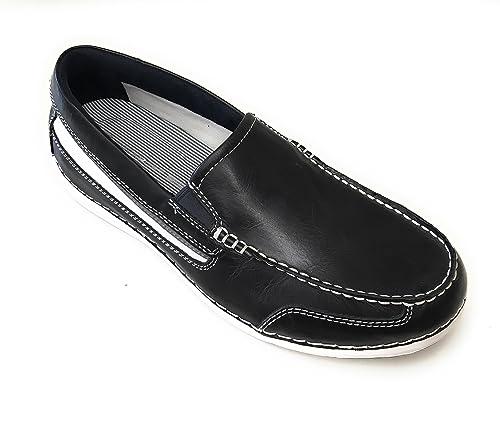 Rockport Mocasines de Piel Para Hombre Azul Turquesa: Amazon.es: Zapatos y complementos