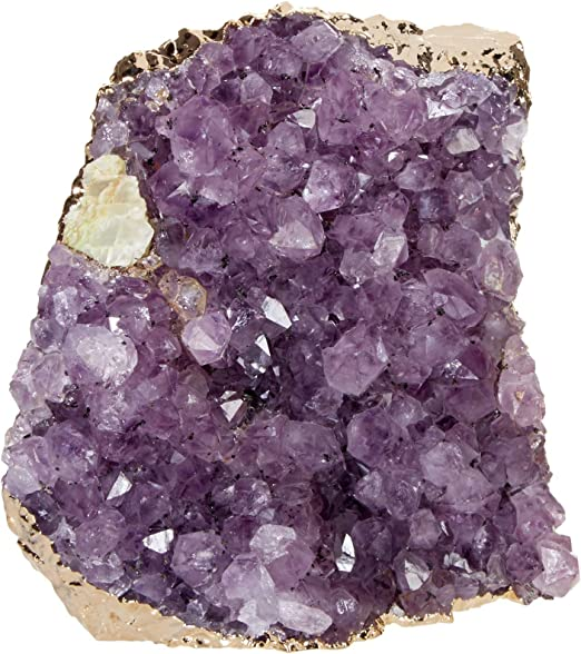 Amazon.com: RabLabs Interno Decorative Object, Amethyst/Gold: Home ...