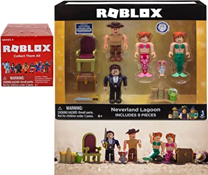 Amazoncom Mermaids Sandcastles Character Compatible With - roblox figure series 2 mini figure with unused online code