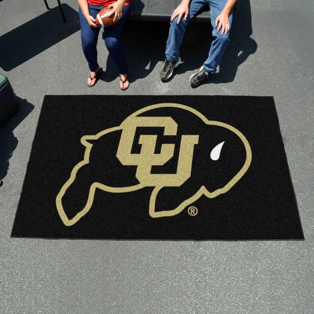 NCAA Novelty Starter Mat Size: 5' x 8', NCAA Team: Colorado