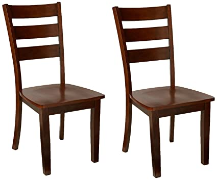Amazon.com: Poundex PDEX-F1441 Side Chair, Set of 2: Kitchen ...