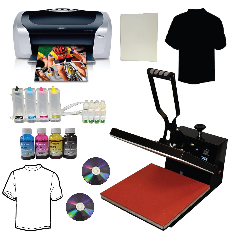 Amazon com: 15x15 Heat Transfer Press Epson C88+ Printer