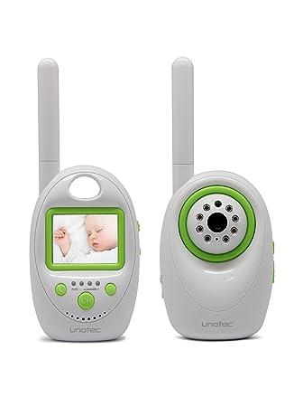 Unotec Vigila bebés con pantalla a color con alarma y sonido ...