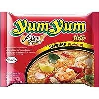 Yum Yum - Nouilles Instantanées Crevette 60 g - Pack de 30