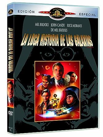 La Loca Historia De Las Galaxias Dvd Import European Format Region