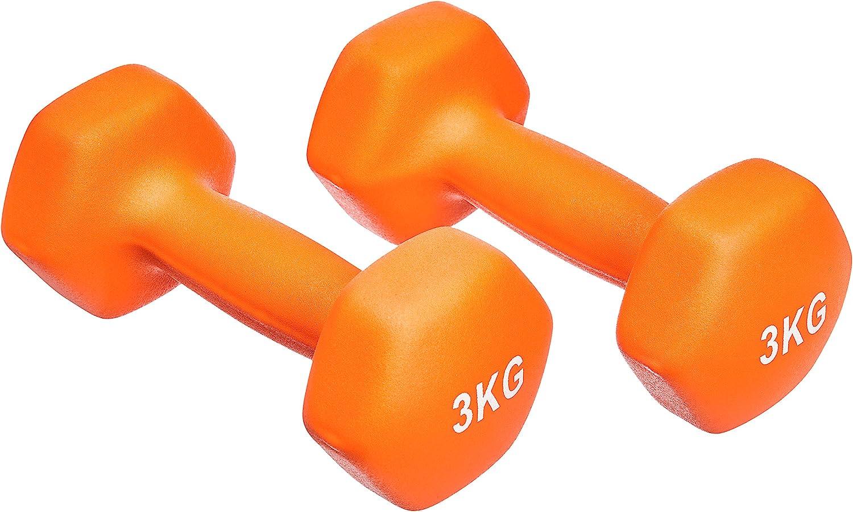 2er-Sets, 1kg - 5kg Hanteln Basics Neopren Hanteln Gewichte