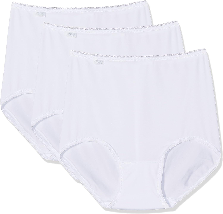 Sloggi Damen Hohe Taille H/öschen 3er Pack