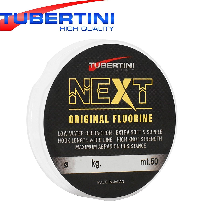 /Sedal para Pesca de truchas Tubertini Fluorine 50/m/ l/ínea de Pesca para stippvorf/ächer Cuerda para Drop Shot Rigs