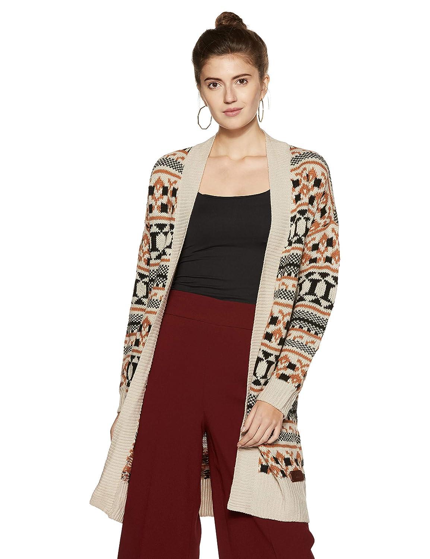 Vero Moda Vmlian LS Oversize Cardigan Dnm Chaqueta para Mujer