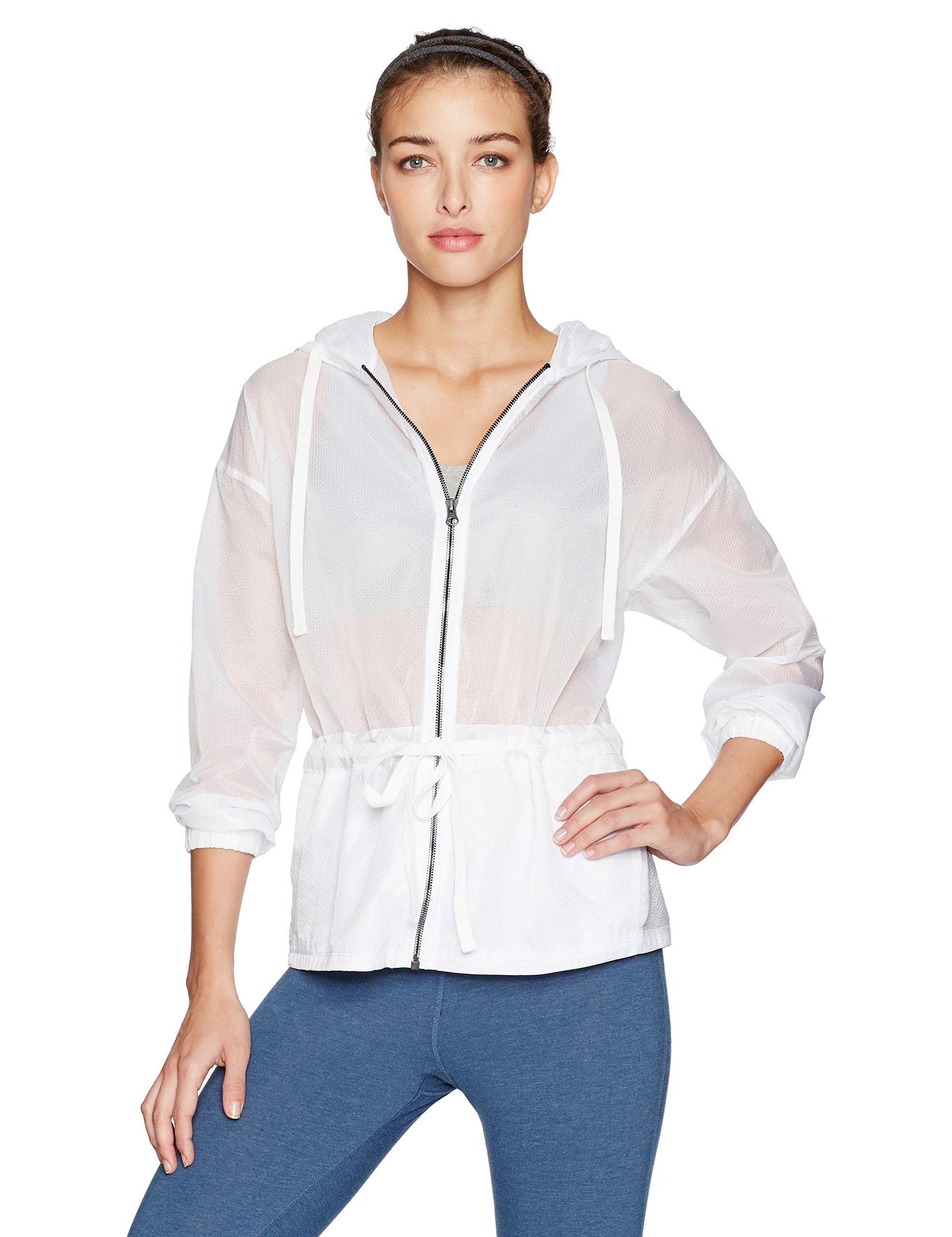 Alo Yoga Women's Hideaway Jacket, White, S