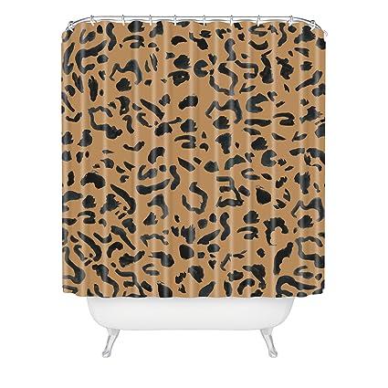 Deny Designs Leeana Benson Cheetah Print Shower Curtain 69quot