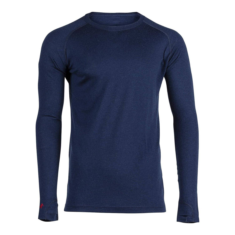 8cb333a90d6 Men s Aspect Midweight Merino Wool Base Layer Long Sleeve Shirt at Amazon  Men s Clothing store