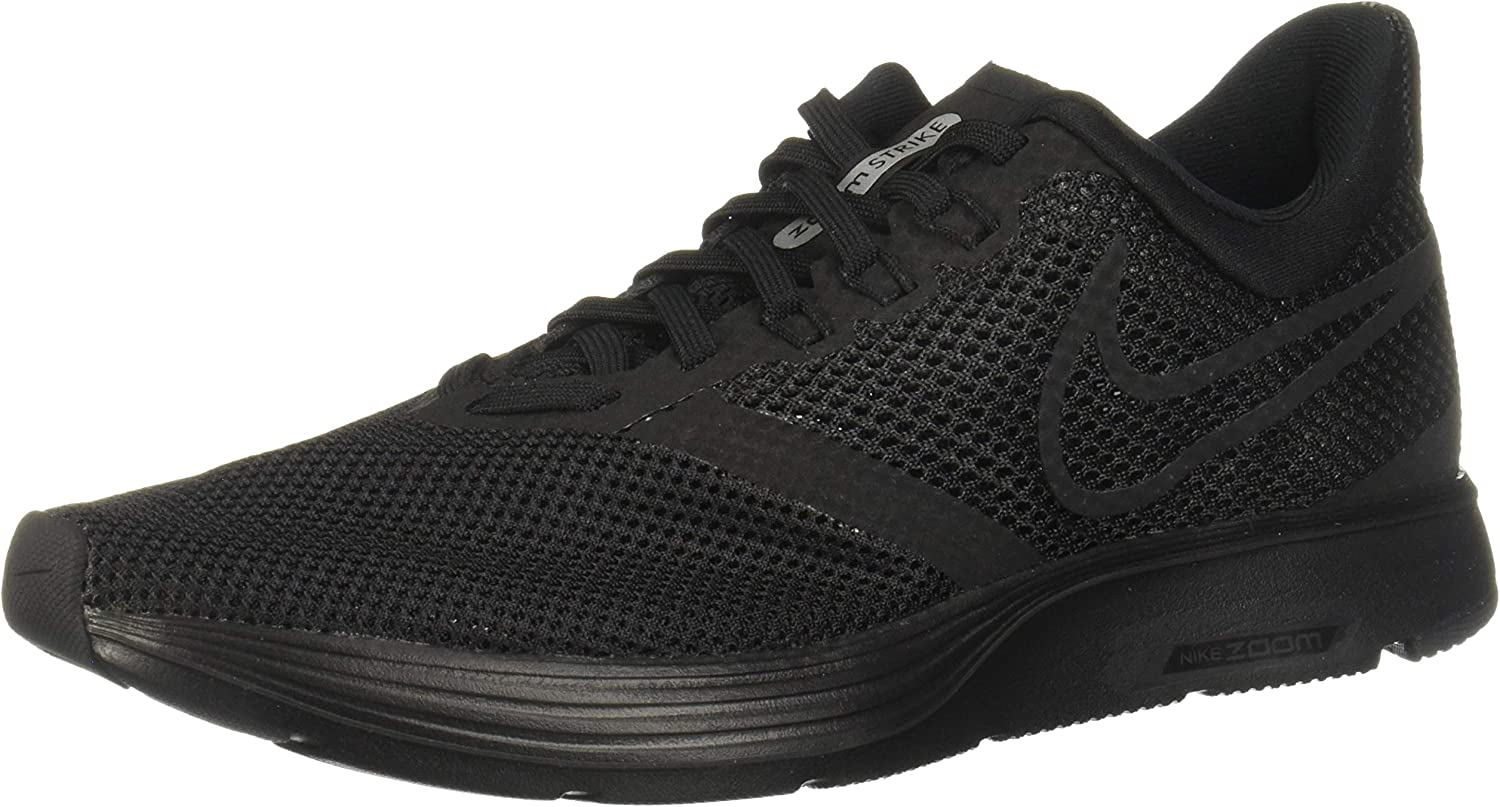 Nike Women s Zoom Strike Black Black Running Shoe 8.5 Women US