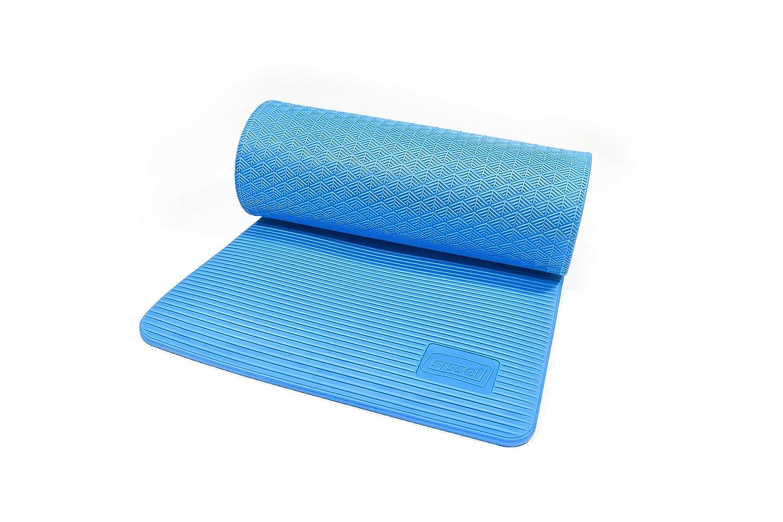 Erwachsene Superior Gymnastikmatte grau 180 x 60 x 1.5 cm Sissel Unisex/