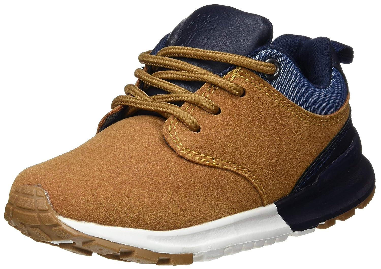 ZIPPY Boys Zapatillas Deportivas para Niño Low-Top Sneakers, Beige (Camel 82), 2.5 UK