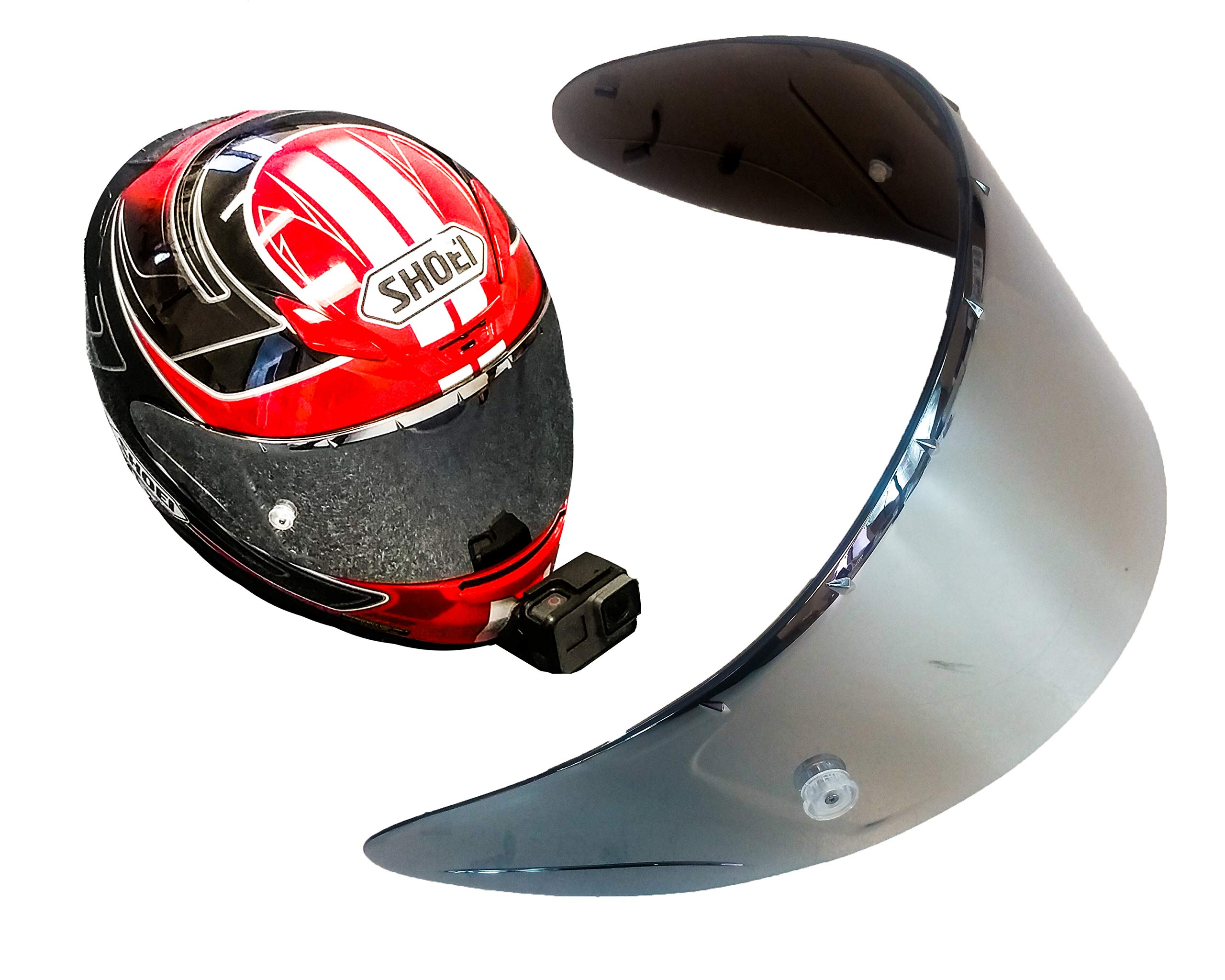 OZ-USA Mirror X-14 CWR-F CWR-1 Pinlock X-Spirit 3 RF-1200 RF-SR RF1200 Aftermarket Shoei Helmet Shield Visor Motorcycle