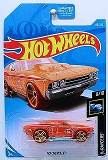 Hot Wheels 2018 X-raycers 69 Chevelle rojo