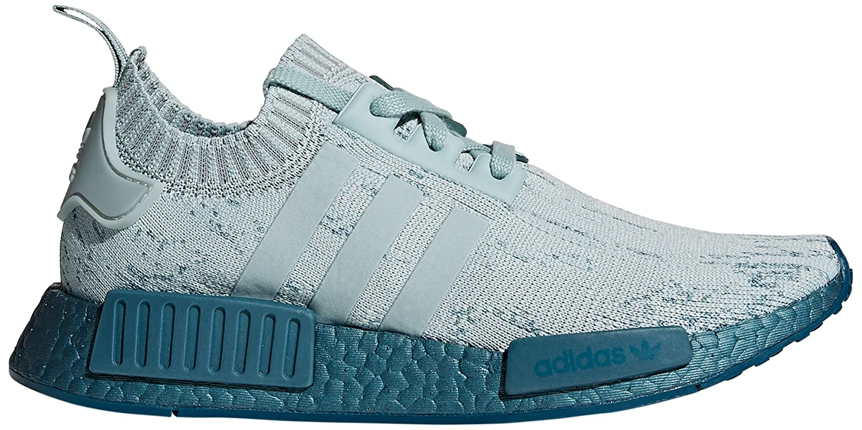 adidas Originals Women's NMD_r1 W Pk Sneaker B0767WLCNK 6.5 B(M) US|Tactile Green/Tactile Green/Petrol Metallic