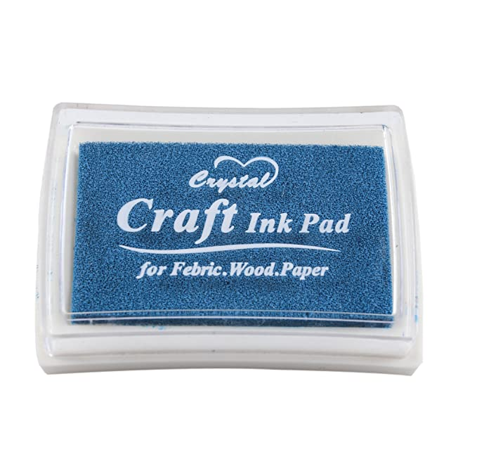 YPSelected Craft Ink Pad Inkpad for Paper Wood Fabric 15 Colors Available for Rubber Stamps Yellow