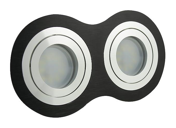 LED Foco empotrable para marco lámpara plafón lámpara Spot ...