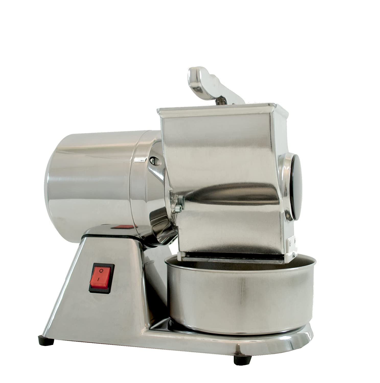 Grattugia formaggio pane elettrica rullo INOX sicurezze CE Made in Italy CMD