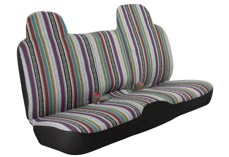 Amazon.com: Pickup Truck Bench Cover Baja Inca Saddle Blanket Fits ...